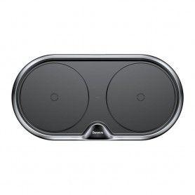 Incarcator Baseus Dual Wireless Charger Black + Incarcator retea Quick Charge 3.0 Baseus - 4