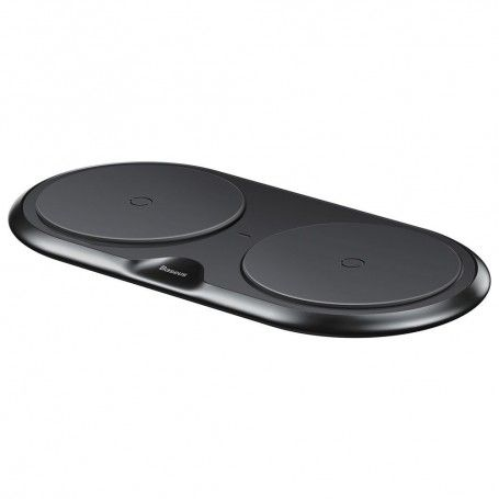 Incarcator Baseus Dual Wireless Charger Black + Incarcator retea Quick Charge 3.0 la pret imbatabile de 174,90 LEI , intra pe PrimeShop.ro.ro si convinge-te singur