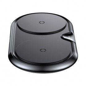 Incarcator Baseus Dual Wireless Charger Black + Incarcator retea Quick Charge 3.0 Baseus - 7
