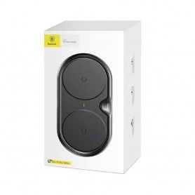 Incarcator Baseus Dual Wireless Charger Black + Incarcator retea Quick Charge 3.0 Baseus - 15