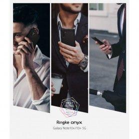 Husa Galaxy Note 10+ Plus - Ringke Onyx Black Ringke - 9