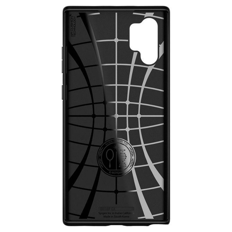 Husa Galaxy Note 10+ Plus - Spigen Core Armor Black - 2