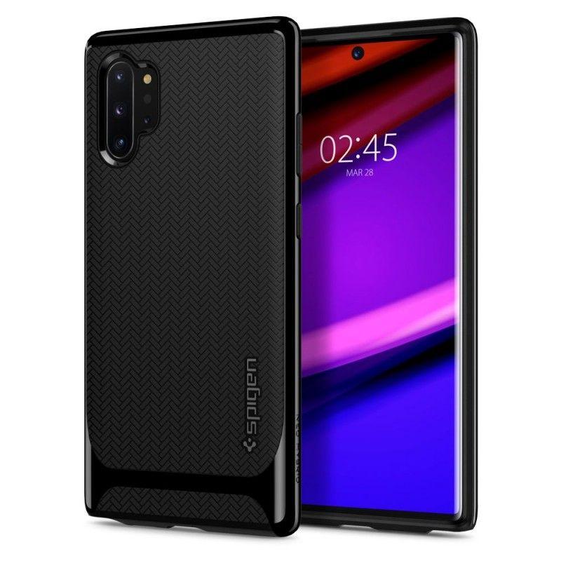 Husa Samsung Galaxy Note 10+ Plus - Spigen Neo Hybrid Midnight Black Spigen - 1