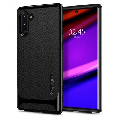 Husa Samsung Galaxy Note 10 - Spigen Neo Hybrid Midnight Black