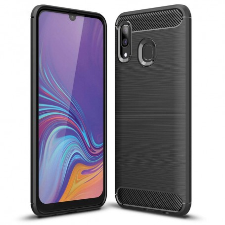 Husa Samsung Galaxy A40 - Tech-protect Tpu Carbon Black la pret imbatabile de 49,00LEI , intra pe PrimeShop.ro.ro si convinge-te singur