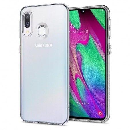 Husa Samsung Galaxy A40 - Spigen Liquid Crystal Crystal Clear la pret imbatabile de 67,00LEI , intra pe PrimeShop.ro.ro si convinge-te singur