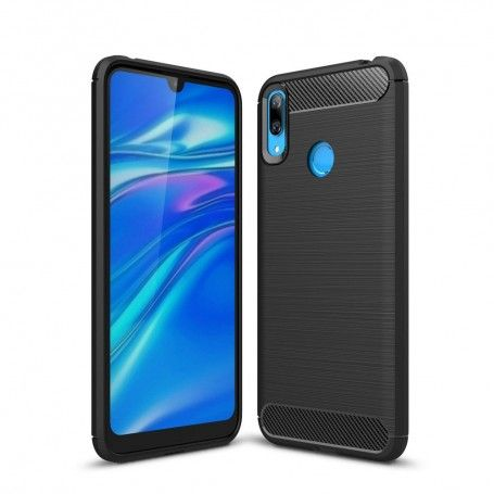 Husa Huawei Y7 2019 - Tech-protect Tpu Carbon Black la pret imbatabile de 46,00lei , intra pe PrimeShop.ro.ro si convinge-te singur