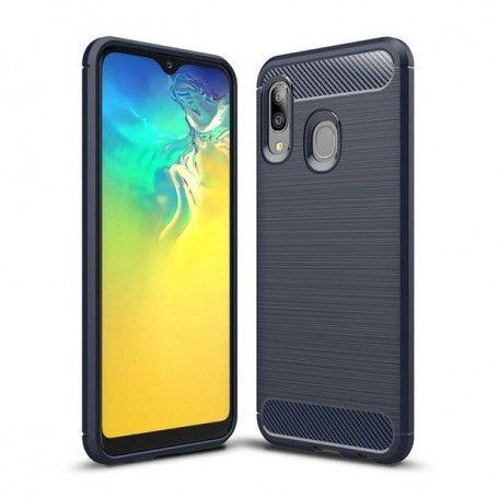 Husa Tpu Carbon Fibre pentru Samsung Galaxy A20e, Midnight Blue la pret imbatabile de 39,00LEI , intra pe PrimeShop.ro.ro si convinge-te singur