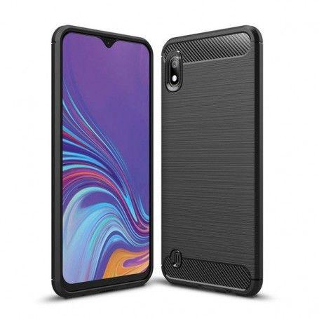 Husa Tpu Carbon Fibre pentru Samsung Galaxy A10, Neagra la pret imbatabile de 39,00LEI , intra pe PrimeShop.ro.ro si convinge-te singur
