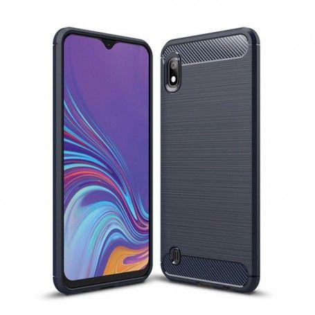 Husa Tpu Carbon Fibre pentru Samsung Galaxy A10, Midnight Blue la pret imbatabile de 35,00lei , intra pe PrimeShop.ro.ro si convinge-te singur