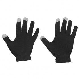 Manusi Touchscreen Gloves, Acrylic Unisex, Negru  - 1