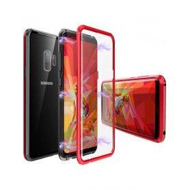 Husa Magnetica 360 cu sticla fata spate, pentru Samsung Galaxy S9+ Plus  - 5