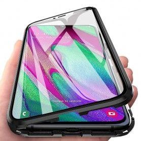 Husa Magnetica 360 cu sticla fata spate, pentru Samsung Galaxy A10  - 4