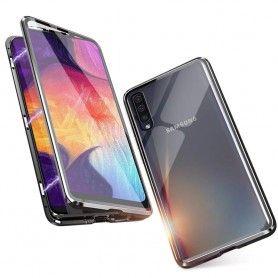 Husa Magnetica 360 cu sticla fata spate, pentru Samsung Galaxy A30s / A50 / A50s  - 1