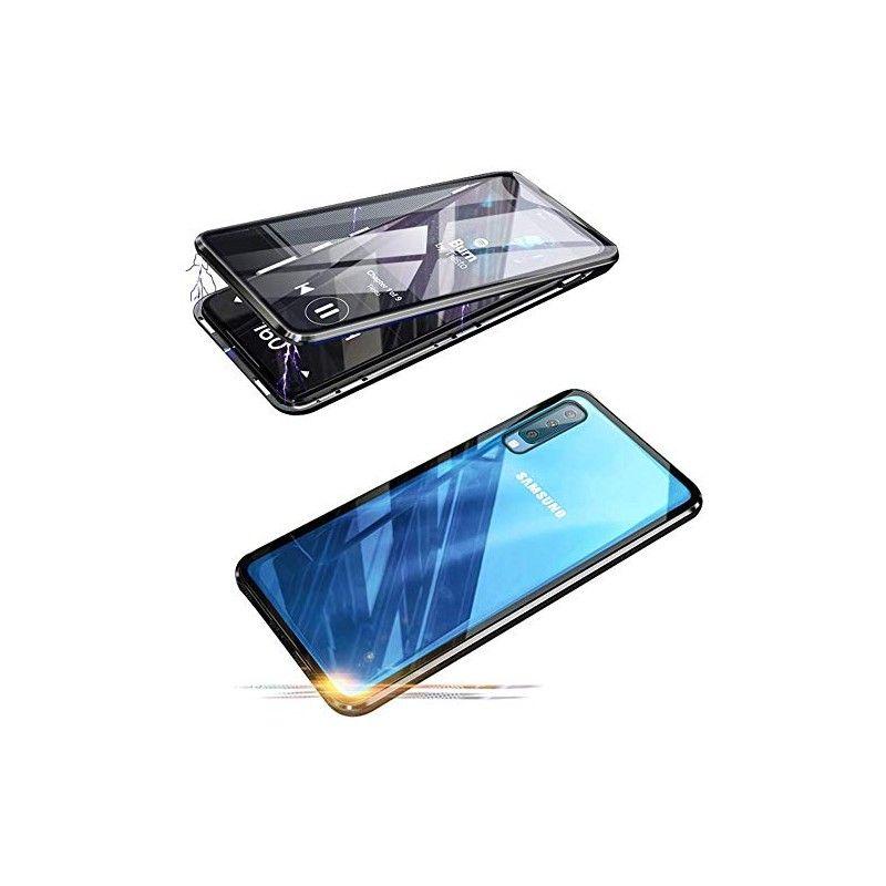Husa Magnetica 360 cu sticla fata spate, pentru Samsung Galaxy A30s / A50 / A50s - 2