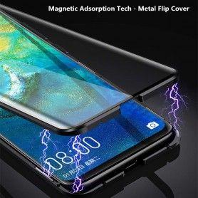 Husa Magnetica 360 cu sticla fata spate, pentru Samsung Galaxy A20e  - 3
