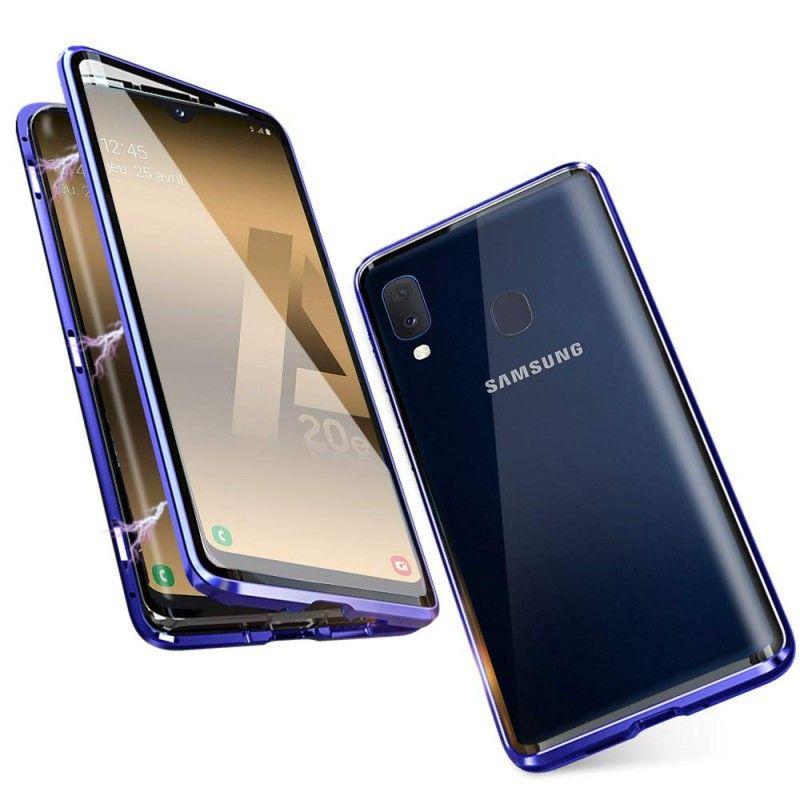 Husa Magnetica 360 cu sticla fata spate, pentru Samsung Galaxy A20e  - 2