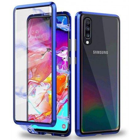 Husa Magnetica 360 cu sticla fata spate, pentru Samsung Galaxy A70