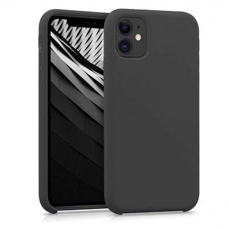 Husa Silicon iPhone XI 11 Pro Max, interior din microfibra, Neagra la pret imbatabile de 45,00lei , intra pe PrimeShop.ro.ro si convinge-te singur