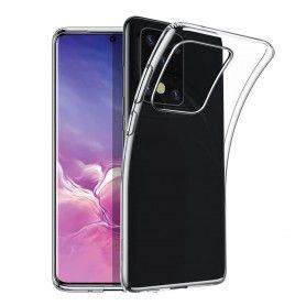 Husa UltraSlim Gel Tpu Transparent pentru Samsung Galaxy S20 Ultra  - 1