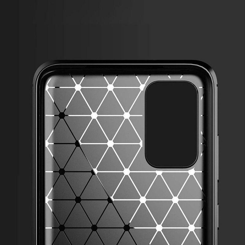 Husa Tpu Carbon pentru Samsung Galaxy S20 Ultra, Midnight Blue - 2