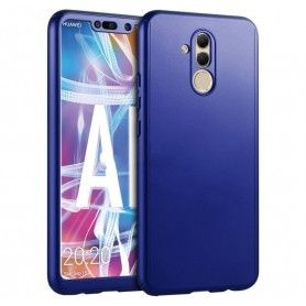 Husa 360 Protectie Totala Fata Spate pentru Huawei Mate 20 Lite , Dark Blue  - 1