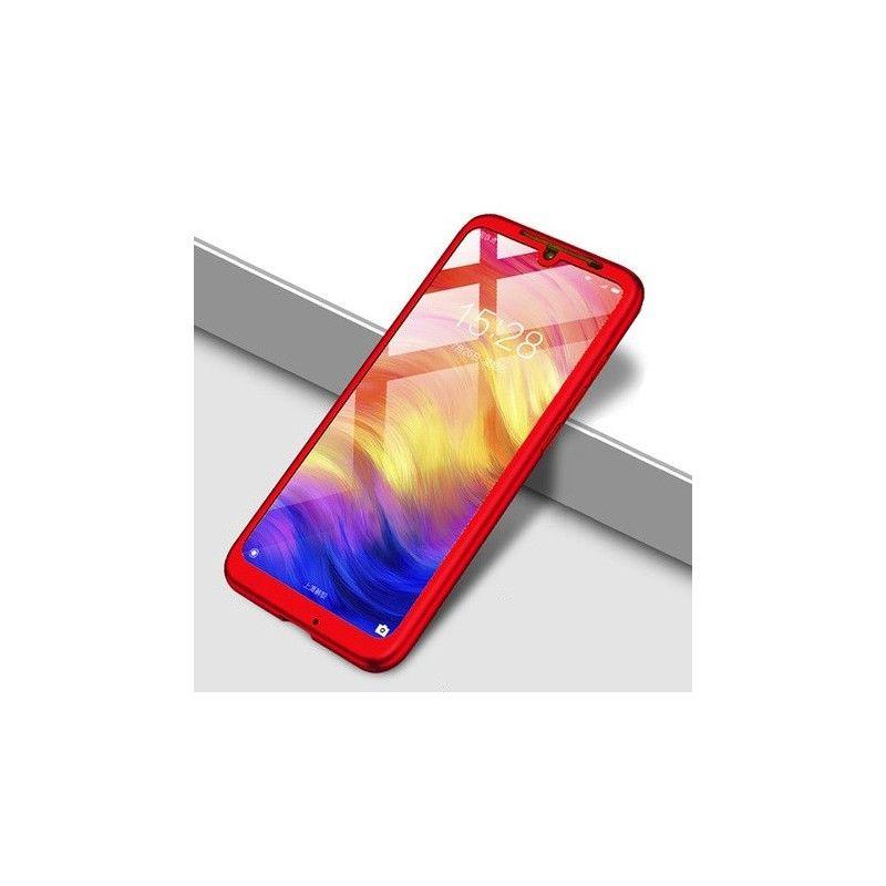 Husa 360 Protectie Totala Fata Spate pentru Huawei P Smart (2019) , Rosie  - 1