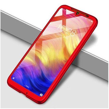 Husa 360 Protectie Totala Fata Spate pentru Huawei Y7 2019 , Rosie la pret imbatabile de 38,99lei , intra pe PrimeShop.ro.ro si convinge-te singur