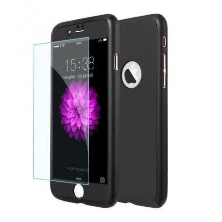 Husa 360 Protectie Totala Fata Spate pentru iPhone 5 / 5S / SE , Neagra la pret imbatabile de 45,00lei , intra pe PrimeShop.ro.ro si convinge-te singur