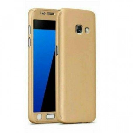 Husa 360 Protectie Totala Fata Spate pentru Samsung Galaxy A5 (2017) / A520, Aurie la pret imbatabile de 39,00LEI , intra pe PrimeShop.ro.ro si convinge-te singur