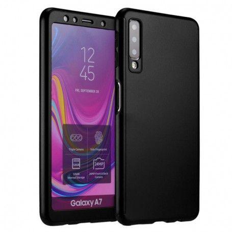 Husa 360 Protectie Totala Fata Spate pentru Samsung Galaxy A7 (2018) , Neagra la pret imbatabile de 39,90lei , intra pe PrimeShop.ro.ro si convinge-te singur