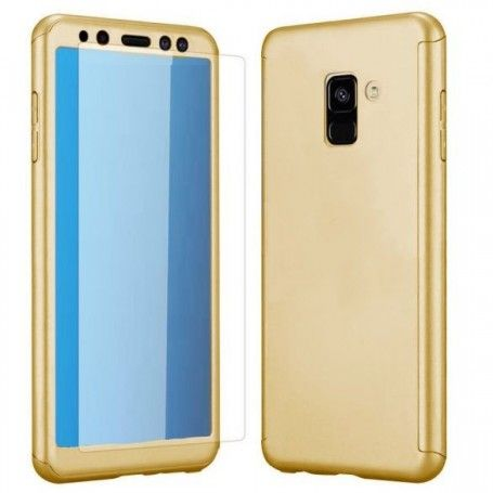 Husa 360 Protectie Totala Fata Spate pentru Samsung Galaxy A8 (2018) , Aurie la pret imbatabile de 39,00LEI , intra pe PrimeShop.ro.ro si convinge-te singur