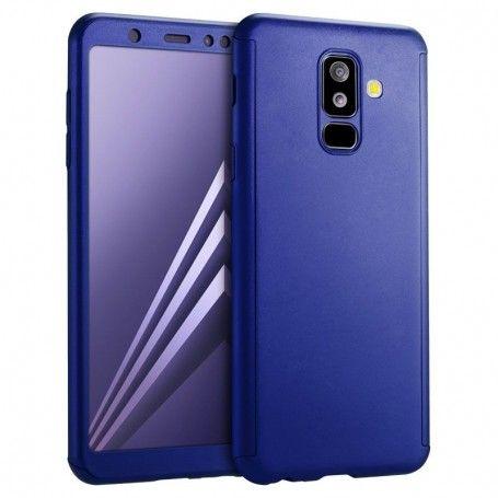 Husa 360 Protectie Totala Fata Spate pentru Samsung Galaxy A8 (2018) , Albastra la pret imbatabile de 39,00LEI , intra pe PrimeShop.ro.ro si convinge-te singur