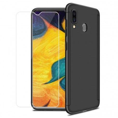 Husa 360 Protectie Totala Fata Spate pentru Samsung Galaxy A40 , Neagra la pret imbatabile de 49,00LEI , intra pe PrimeShop.ro.ro si convinge-te singur