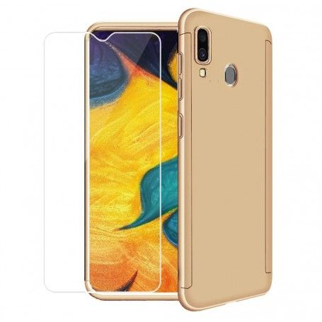 Husa 360 Protectie Totala Fata Spate pentru Samsung Galaxy A40 , Aurie la pret imbatabile de 45,00LEI , intra pe PrimeShop.ro.ro si convinge-te singur