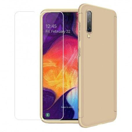 Husa 360 Protectie Totala Fata Spate pentru Samsung Galaxy A30s / A50 / A50s , Aurie la pret imbatabile de 49,00LEI , intra pe PrimeShop.ro.ro si convinge-te singur