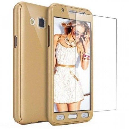 Husa 360 Protectie Totala Fata Spate pentru Samsung Galaxy J3 (2016) J310 , Aurie la pret imbatabile de 45,00lei , intra pe PrimeShop.ro.ro si convinge-te singur