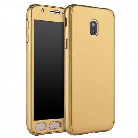 Husa 360 Protectie Totala Fata Spate pentru Samsung Galaxy J5 (2017) J530, Aurie la pret imbatabile de 39,00LEI , intra pe PrimeShop.ro.ro si convinge-te singur