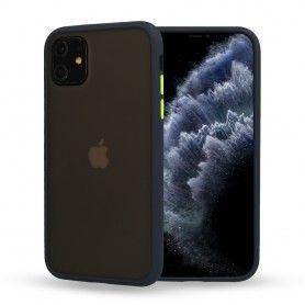 Husa Mata cu bumper din silicon pentru iPhone 11 XI