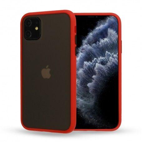 Husa Mata cu bumper din silicon pentru iPhone 11 Pro, Rosie la pret imbatabile de 49,00LEI , intra pe PrimeShop.ro.ro si convinge-te singur