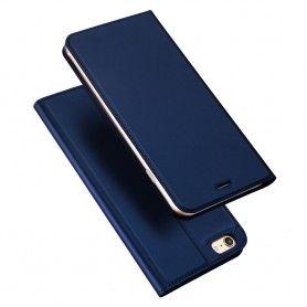 Husa Flip Tip Carte DuxDucis Skin Pro pentru iPhone 5 / 5S / SE , Midnight Blue DuxDucis - 1