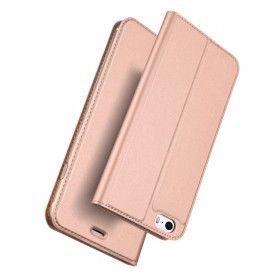 Husa Flip Tip Carte DuxDucis Skin Pro pentru iPhone 5 / 5S / SE , Rose Gold DuxDucis - 2