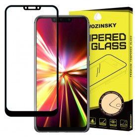 Folie Sticla Securizata pentru Huawei Mate 20 Lite, Case Friendly, Neagra  - 1
