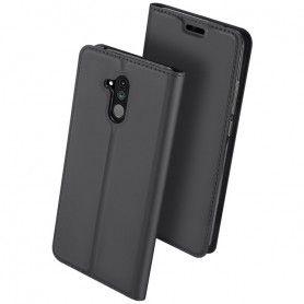 Husa Flip Tip Carte DuxDucis Skin Pro pentru Huawei Mate 20 Lite , Gri DuxDucis - 2