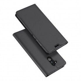 Husa Flip Tip Carte DuxDucis Skin Pro pentru Huawei Mate 20 Lite , Gri DuxDucis - 3
