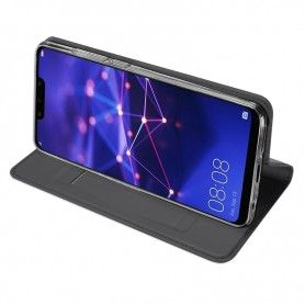 Husa Flip Tip Carte DuxDucis Skin Pro pentru Huawei Mate 20 Lite , Gri DuxDucis - 4