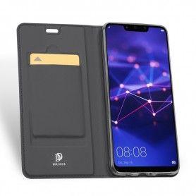 Husa Flip Tip Carte DuxDucis Skin Pro pentru Huawei Mate 20 Lite , Gri DuxDucis - 5