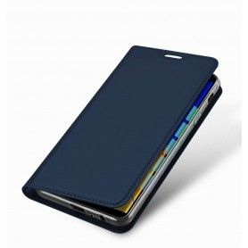 Husa Flip Tip Carte DuxDucis Skin Pro pentru Samsung Galaxy J4 Plus (2018) - J415 , Midnight Blue DuxDucis - 1