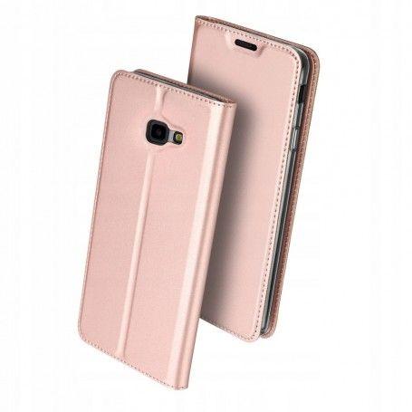 Husa Flip Tip Carte DuxDucis Skin Pro pentru Samsung Galaxy J4 Plus (2018) - J415 , Rose Gold la pret imbatabile de 59,90LEI , intra pe PrimeShop.ro.ro si convinge-te singur