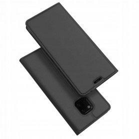 Husa Flip Tip Carte DuxDucis Skin Pro pentru Huawei Mate 20 Pro , Gri DuxDucis - 2